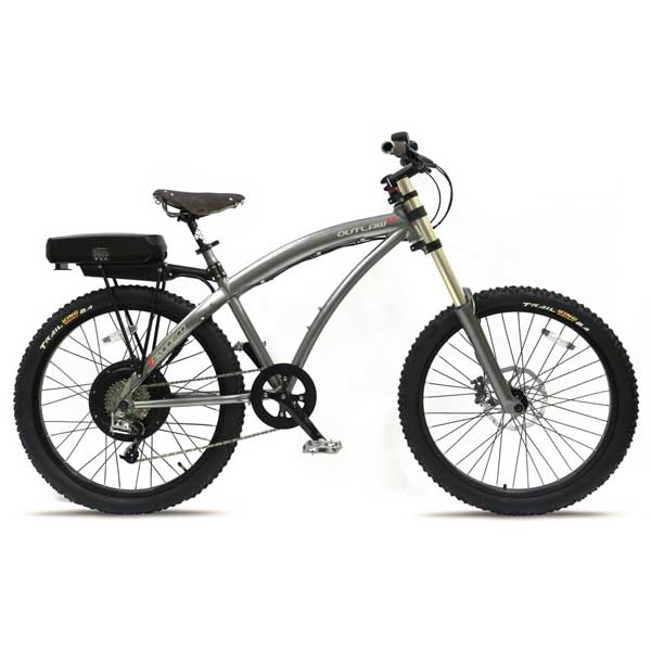 Prodeco Technologies Outlaw EX Electric Bike 8 Speed, 48V, 750W