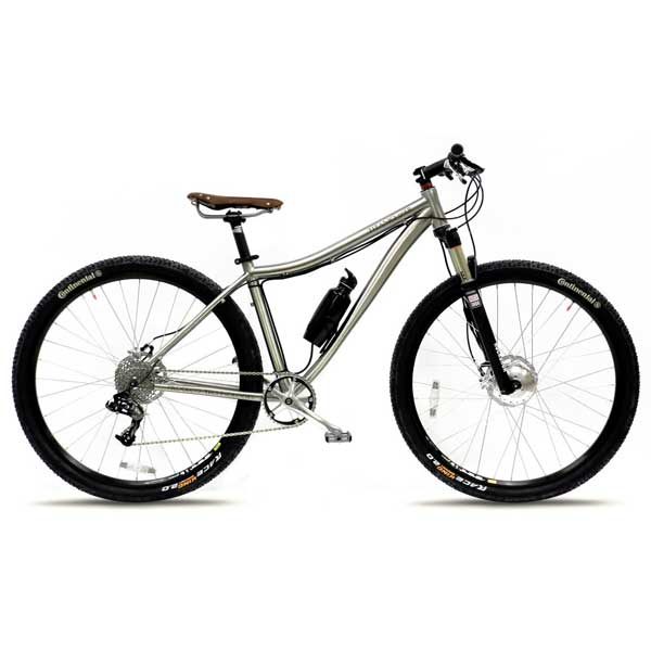 Prodeco Technologies Titanio 29er Electric Bike 10 Speed, 33V, 200W