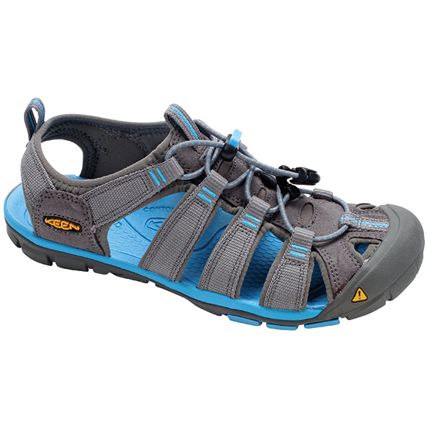 Keen Women's Clearwater CNX Shoes, Gray, 9