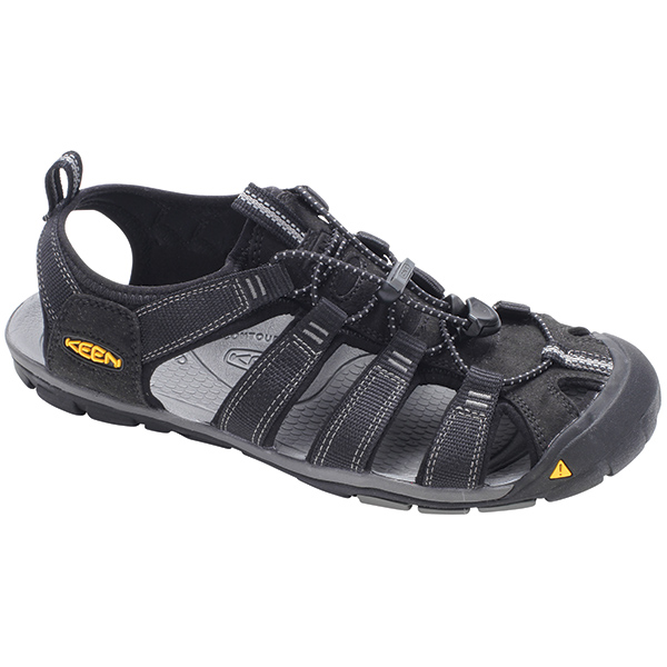 Keen Men's Clearwater CNX Shoes, Black, 9 Sale $99.99 SKU: 14704431 ID# 1008660-24 UPC# 887194038268 :