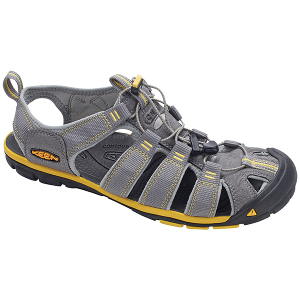 Keen Men's Clearwater CNX Shoes, Gray, 12