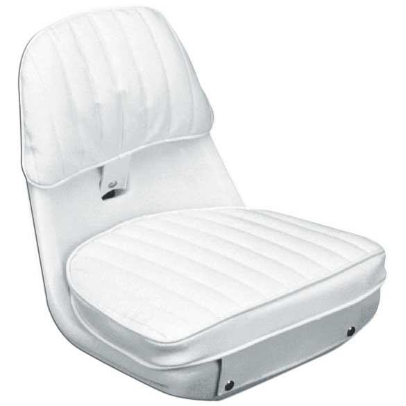 Moeller Helm 2070 Chair, Cushion Set and Mounting Plate, White