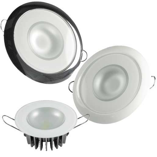Lumitec Lighting Down LED Light, Glass Finish, 2-Color: White Dimming, Blue Dimming Sale $99.99 SKU: 14296024 ID# 113191 UPC# 89300103871 :