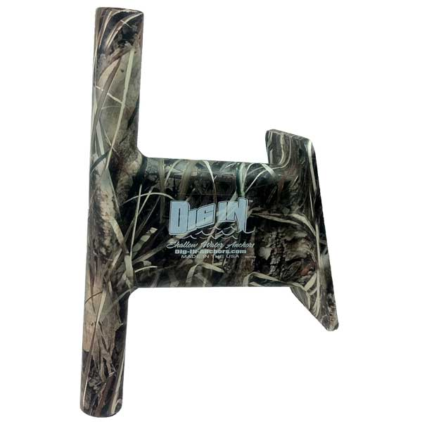 Dig In Anchors 5 Transom Mount For Use with 8, 10 or 12' Anchor Pole, Camo