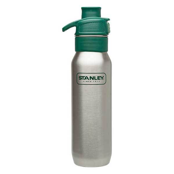 Stanley Stainless Steel One-Handed Water Bottle, 24 oz. Sale $19.99 SKU: 14752141 ID# 10-01152-065 UPC# 41604231735 :