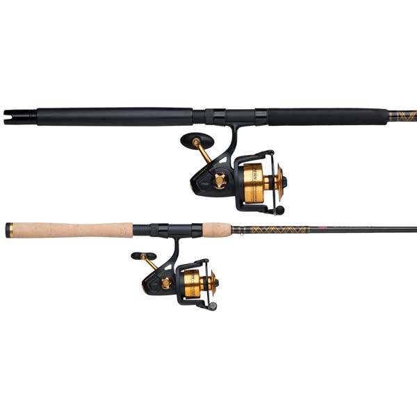 PENN Spinfisher V 3500 Combo Spinning Reel, 5+1 Bearing, 20 Max Drag, 6.2:1 GR, 14.4 oz, Cork Handle