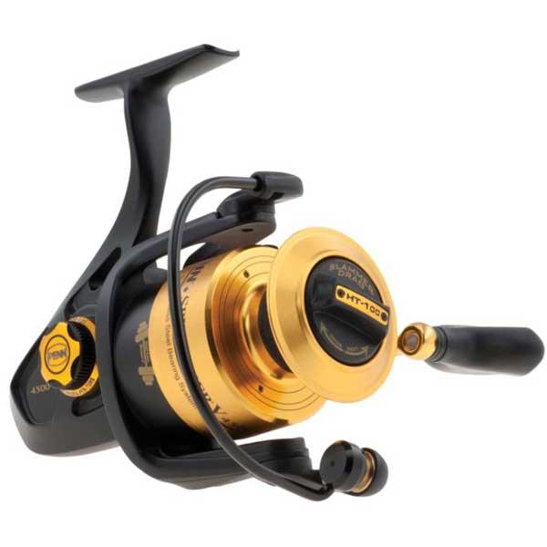 PENN Spinfisher V 4500 Combo Spinning Reel, 5+1 Bearing, 25 Max Drag, 6.2:1 GR, 15.4 oz, Cork Handle