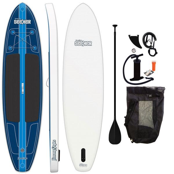 Jimmy Styks 10'6 Seeker Inflatable Stand-Up Paddleboard Package Sale $599.99 SKU: 14772628 ID# JSSEEK UPC# 91037462374 :
