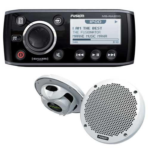 Fusion MS-RA205 Marine Stereo with MS-EL602 6 Two-Way Speakers Sale $309.99 SKU: 14782023 ID# MS-RA205KTS UPC# 9419523302071 :