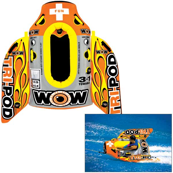 Wow Sports TriPod Towable Tube Sale $299.99 SKU: 14807176 ID# 13-1020 UPC# 4897034341041 :