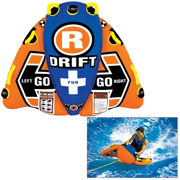 Wow Sports Drifter Towable Tube Sale $139.99 SKU: 14807184 ID# 13-1030 UPC# 4897034341065 :
