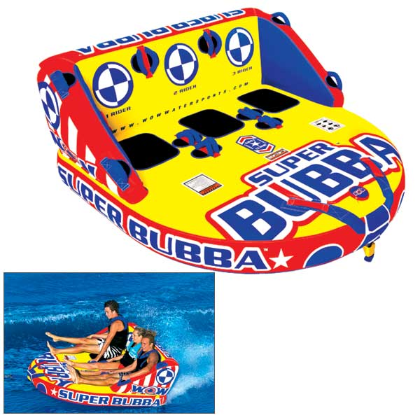 Wow Sports Super Bubba Towable Tube Sale $349.99 SKU: 14807382 ID# 13-1090 UPC# 4897034341164 :