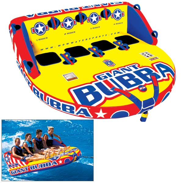 Wow Sports Giant Bubba Towable Tube