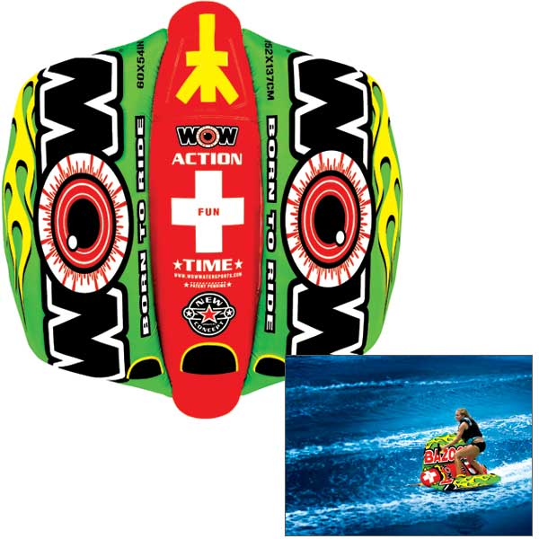 Wow Sports Bazooka Towable Tube Sale $179.99 SKU: 14807416 ID# 12-1040 UPC# 4897034340631 :