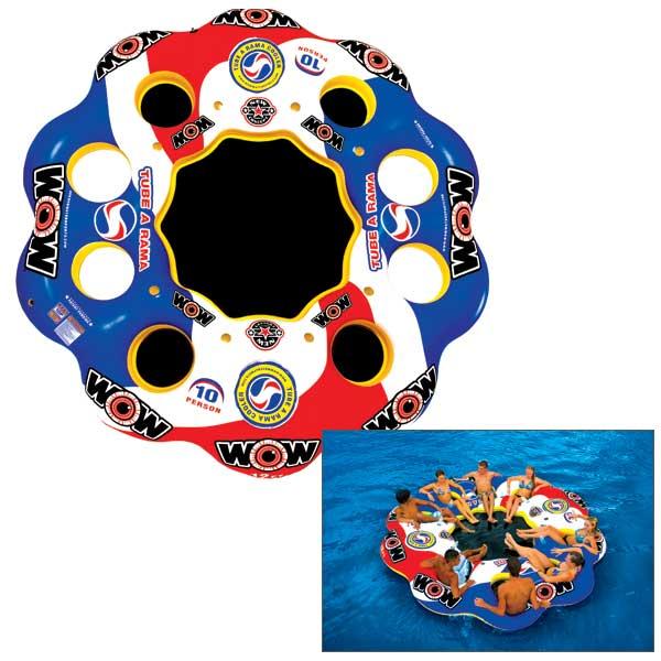 Wow Sports Tube A Rama, 10 Person Float Sale $329.99 SKU: 14807507 ID# 13-2060 UPC# 4897034341287 :
