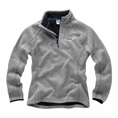 Women's Elements Fleece Sweater, Silver, 14 (UK)