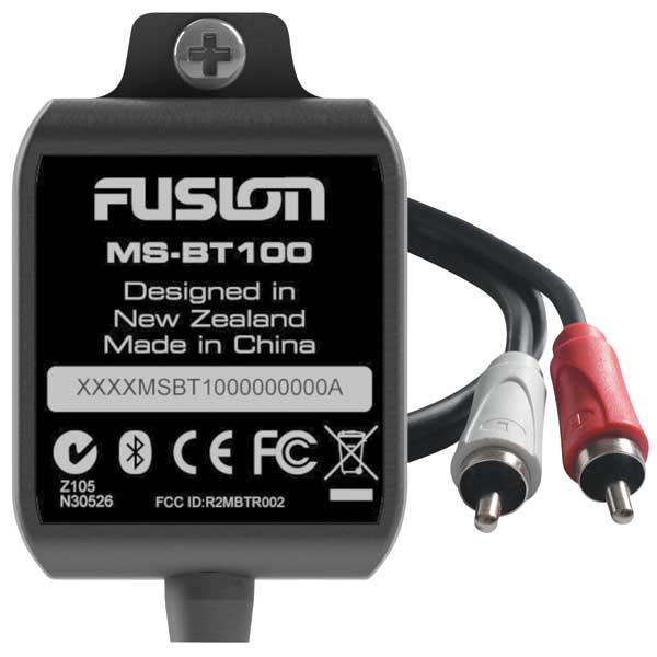 Fusion MS-BT100 Marine Bluetooth Module Sale $44.99 SKU: 14819817 ID# MS-BT100 UPC# 9419523302316 :
