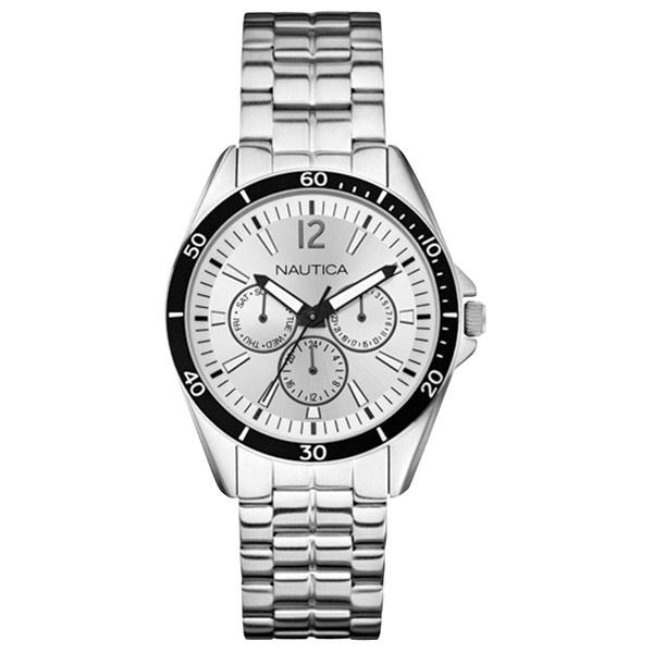 Nautica NAC 101 Multi-Function Watch Gray Sale $39.66 SKU: 14843338 ID# N13622G UPC# 656086055498 :