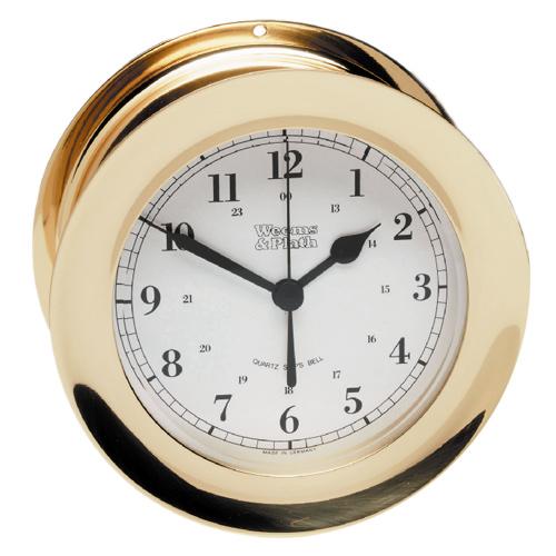 Weems & Plath Atlantis 8-Day Wind Ship's Bell Clock