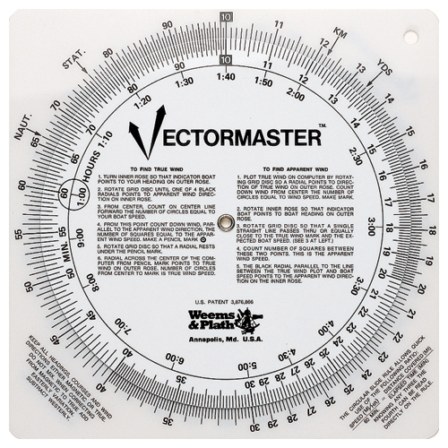 Weems & Plath Vectormaster Navigation Tool