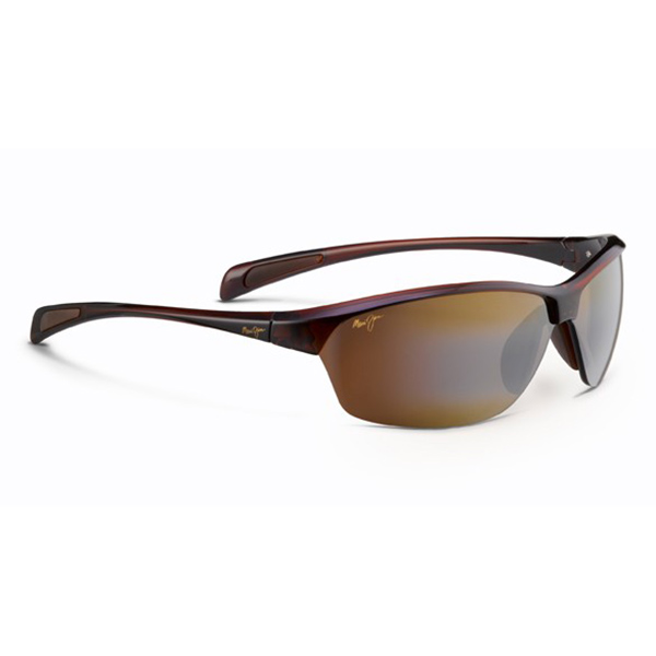 Maui Jim Hot Sands Sunglasses, Rootbeer Frames with HCL Bronze Lenses Brown