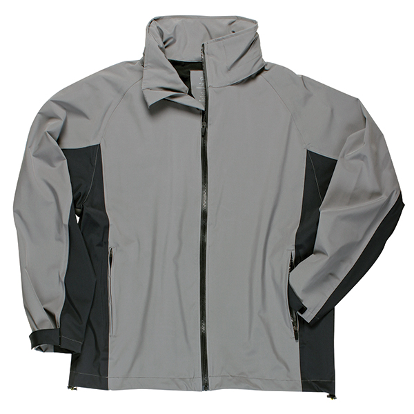 Men's Signature Rain Jacket, Gargoyle, M
