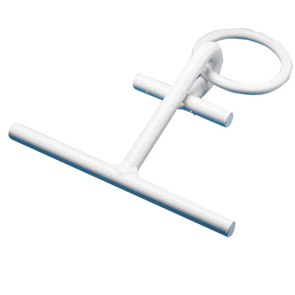 Dock Edge PortaCleat Portable Dock Cleat, White