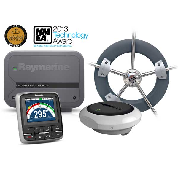 Raymarine Evolution EV-100 Wheel Sail Autopilot