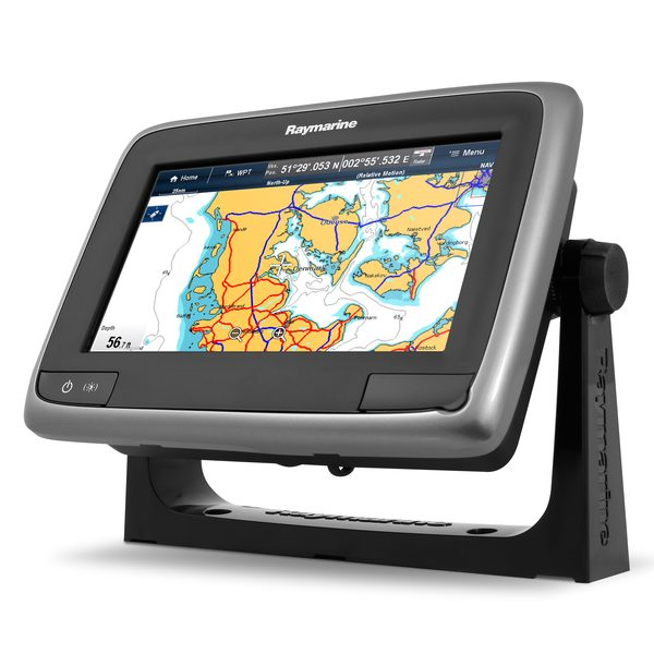 a78 Multi-Function Display with DownVision Sounder, CPT-100 CHIRP Transducer and Navionics Gold Charts, Non-WiFi