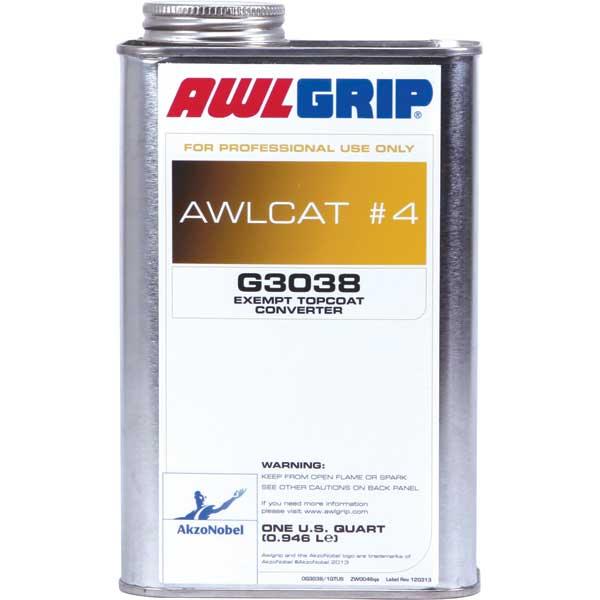 Awlgrip VOC Exempt Topcoat Converter , Qt.