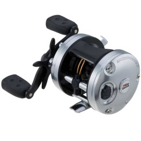 Abu Garcia C3-5500 Baitcaster Reel, 5.3:1 GR, Std, 12 lb. / 205 yds Mono, 30 lbs / 250 yds Braid, Right HR, 15 lb. Max Drag, 9.9 oz.