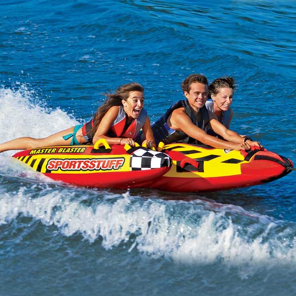 Airhead Master Blaster Inflatable Three Rider Towable