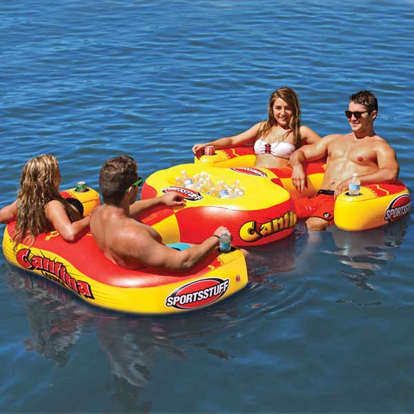 Airhead Cantina Lounge Inflatable 4 Person Lounge
