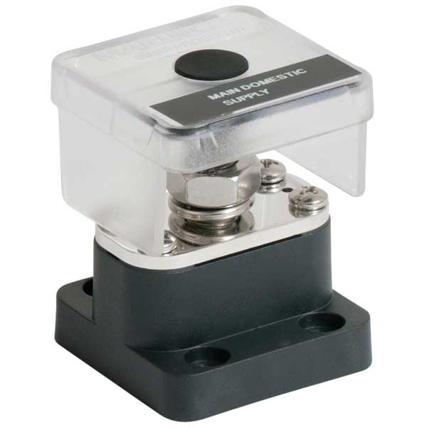 Bep Marine Single 10mm Insulated Stud w/4mm Power Tapping Plate