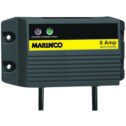 Marinco ChargePro Waterproof Single Bank Battery Charger—6 Amp Sale $109.99 SKU: 14981906 ID# 28106 UPC# 93344058257 :