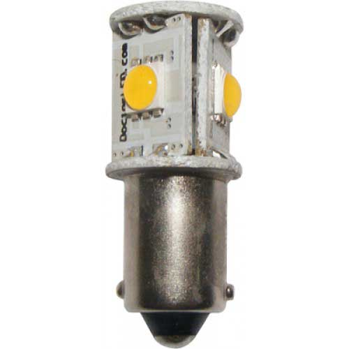 Dr. Led Polar Star 20 LED Replacement Bulb, 2nm Visibility 9mm Single Bayonet Non-Index Base