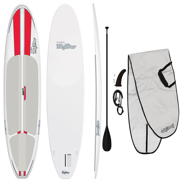 Jimmy Styks 11'6 Big Bro Stand-Up Paddleboard Package, Red