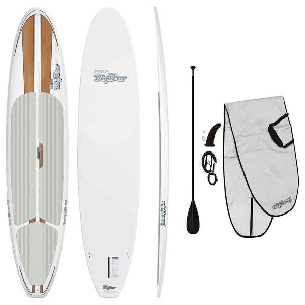 Jimmy Styks 11'6 Big Bro Stand-Up Paddleboard Package, Wood Grain
