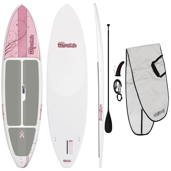 Jimmy Styks 10' Misstyk Stand-Up Paddleboard Package—Pink Sale $749.99 SKU: 14985345 ID# JSMS-1 UPC# 91037646491 :