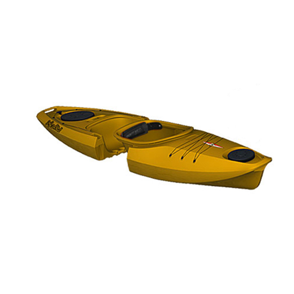 Point 65 Martini GTX Solo Modular Sit-Inside Kayak, Yellow