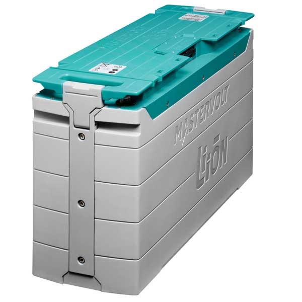 Mastervolt MLI Ultra 12/5000 Lithium Ion Battery, 360Ah, 13.25V, 123.5lb., 24 1/2L x 8W x 14H