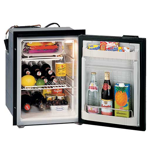 Isotherm Cruise 49 Refrigerator, AC/DC, Black