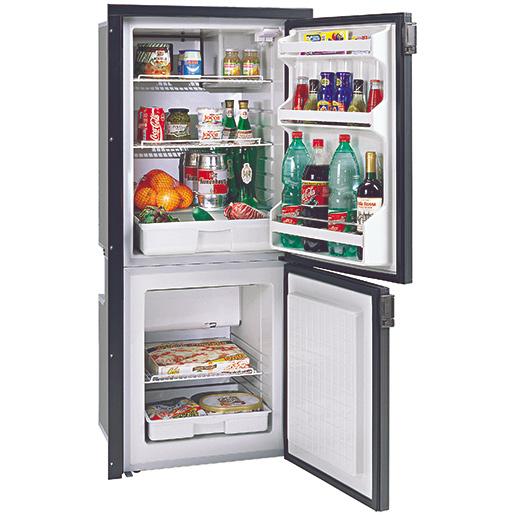 Isotherm Cruise 195 Refrigerator/Freezer, AC/DC, Black
