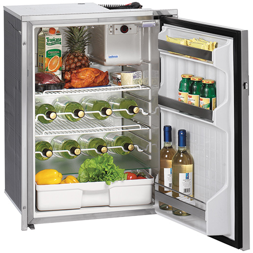 Isotherm Cruise130 Drink Stainless Steel Refrigerator, ACDC Sale $1619.99 SKU: 14995393 ID# 1130BA7MK0000 UPC# 91037684196 :