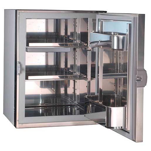 Isotherm Frigonautica 130 Series Stainless Steel Refrigerator, DC