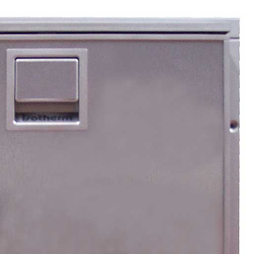 Isotherm Three-Sided Flange for Cruise Elegance 130 Refrigerator, Silver