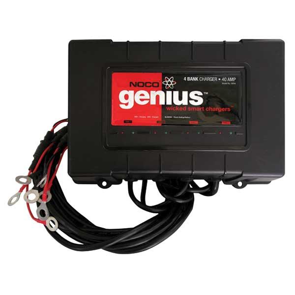 The Noco Company GEN4 On-board Battery Charger, 12V-48V, 4 Bank, 40A