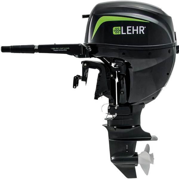 LEHR 15hp Propane Powered Outboard Engine, Short Shaft, Manual Start Sale $2580.00 SKU: 14995963 ID# LP15.0S UPC# 812524010614 :