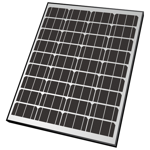 Nature Power Rigid Monocrystalline Solar Panel—65 Watt