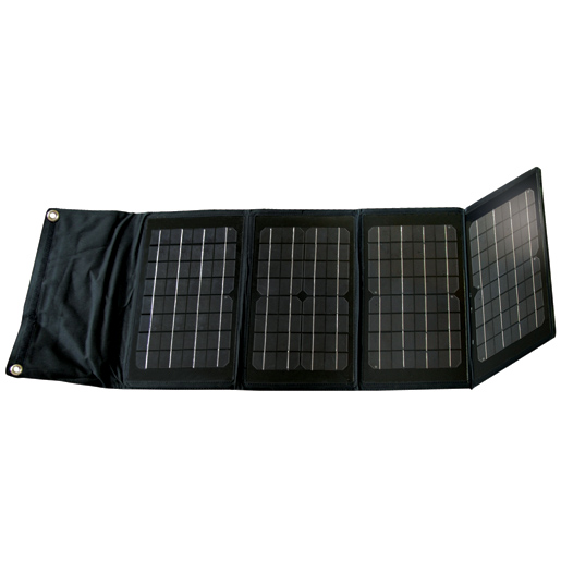 Nature Power Foldable Monocrystalline Solar Panel—40 Watts